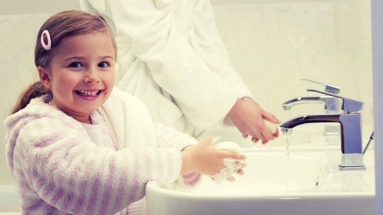 Профилактика глистов у ребенка