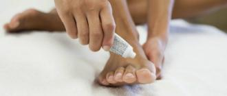 Мази от грибка ногтей