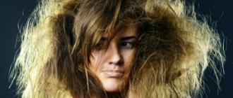 Сухие ломкие волосы
