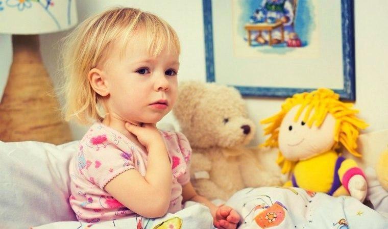 Симптомы ларингита у ребенка