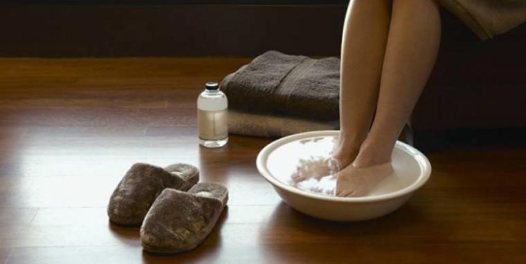 Распариваем ноги