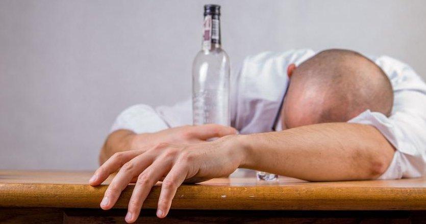 Алкоголик - фото