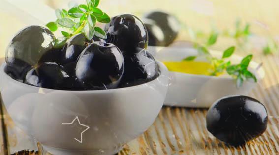 полезные перекусы для худеющих -оливки