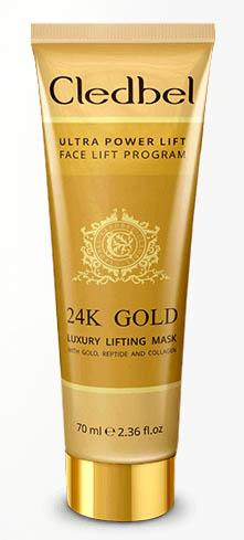 Cledbel 24k Gold лифтинг маска