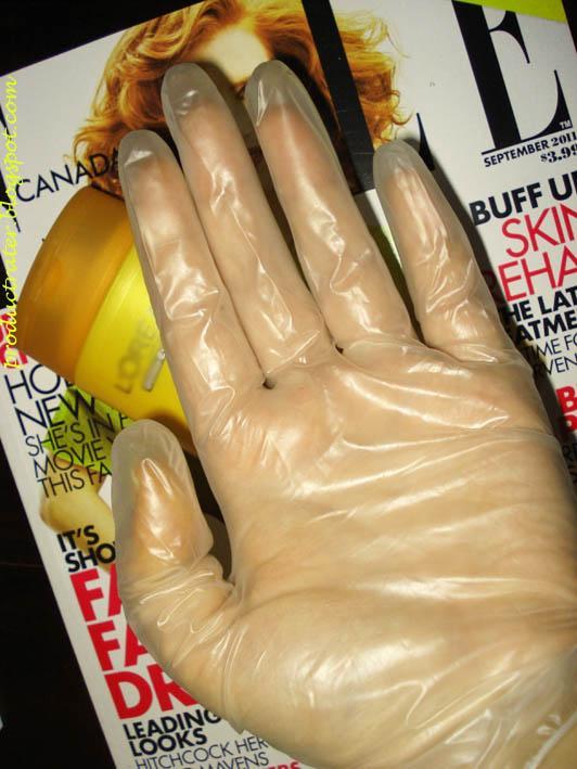 перчатки для нанесения автозагара