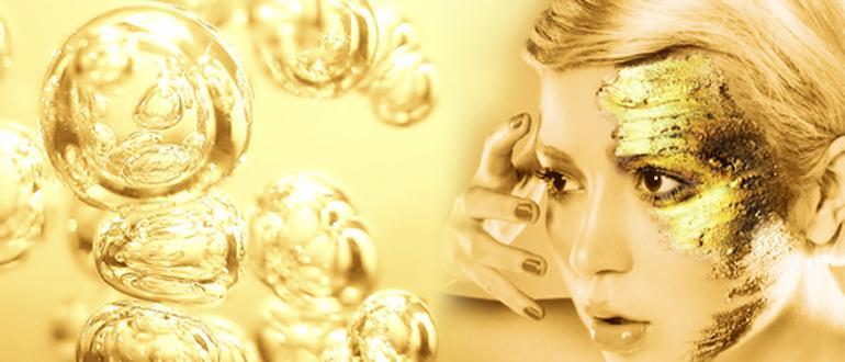 Коллоидное золото в маске Cledbel