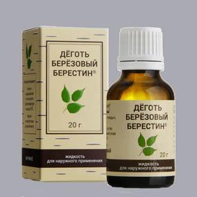 Препарат Берестин для лечения псориаза