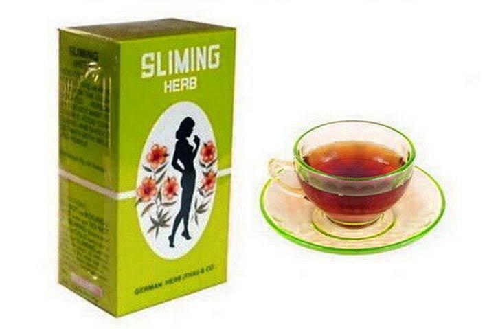 Тайский чай sliming herb для похудения