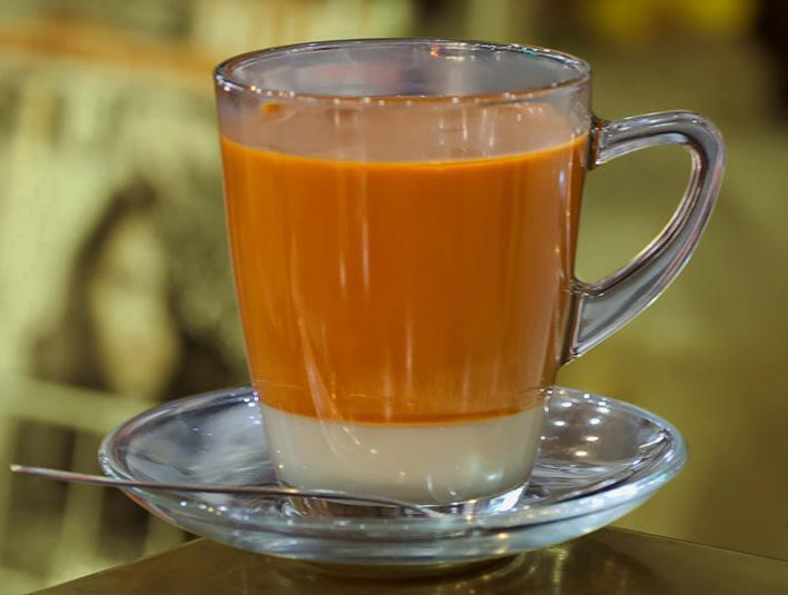 Тайские чаи - Оранжевый тайский чай - травяные чаи на каждый день