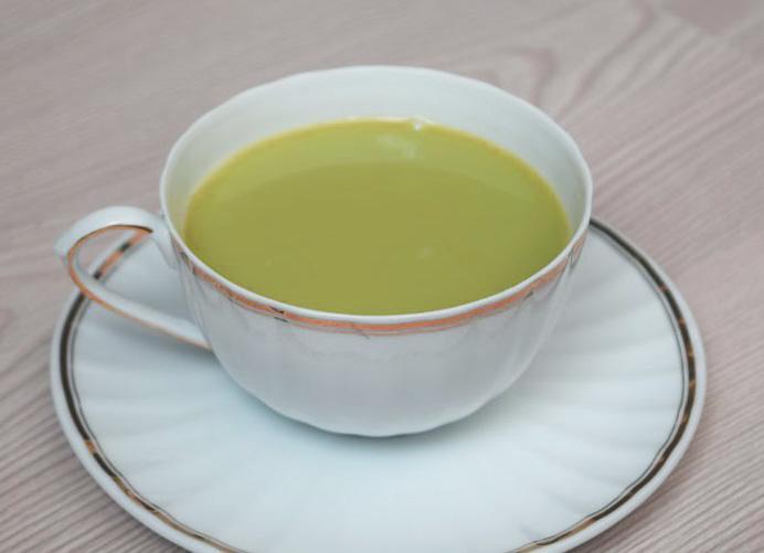 Травяные чаи на каждый день- молочный зеленый тайский чай