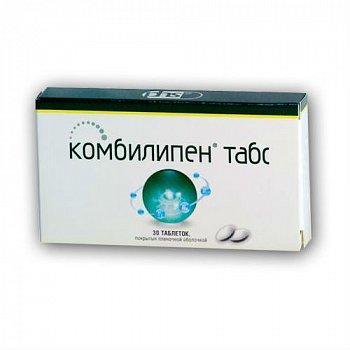 Комбилипен табс- витамины группы Б в таблетках