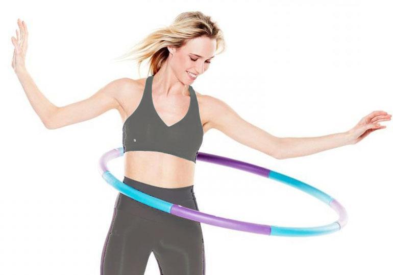 Упражнения с обручем как способ похудеть